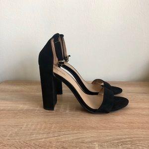 Merona Black Ankle Strap Heels